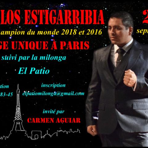 Stage avec Carlos Estigarribia, vice-champion du monde 2018 et 2016