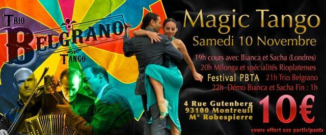 Magic Tango Inauguration